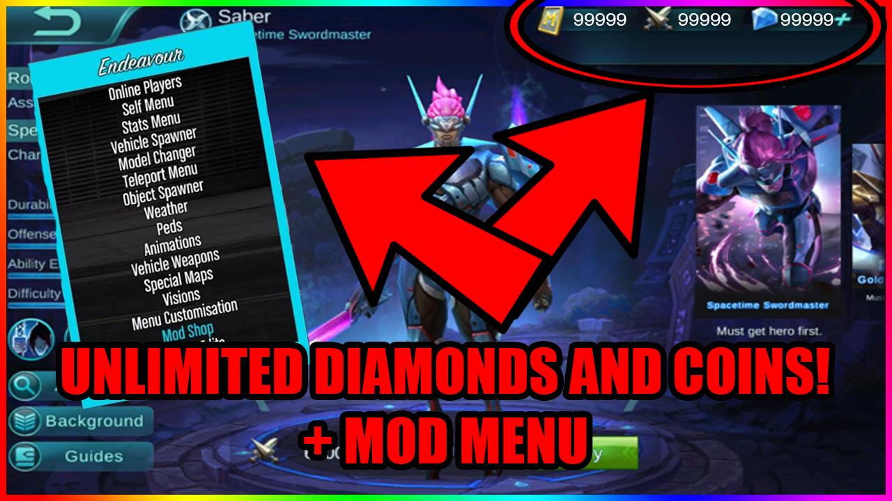 pin op mobile legends diamond hack