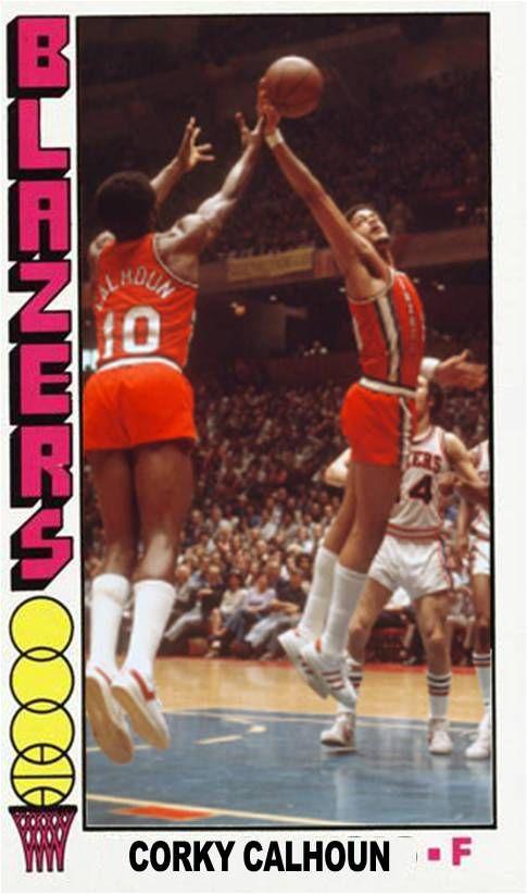 Corky Calhoun Portland Trail Blazers | My Custom Basketball
