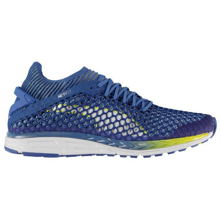 Blue Puma Speed Ignite Netfit  Casual   Sneakers Womens