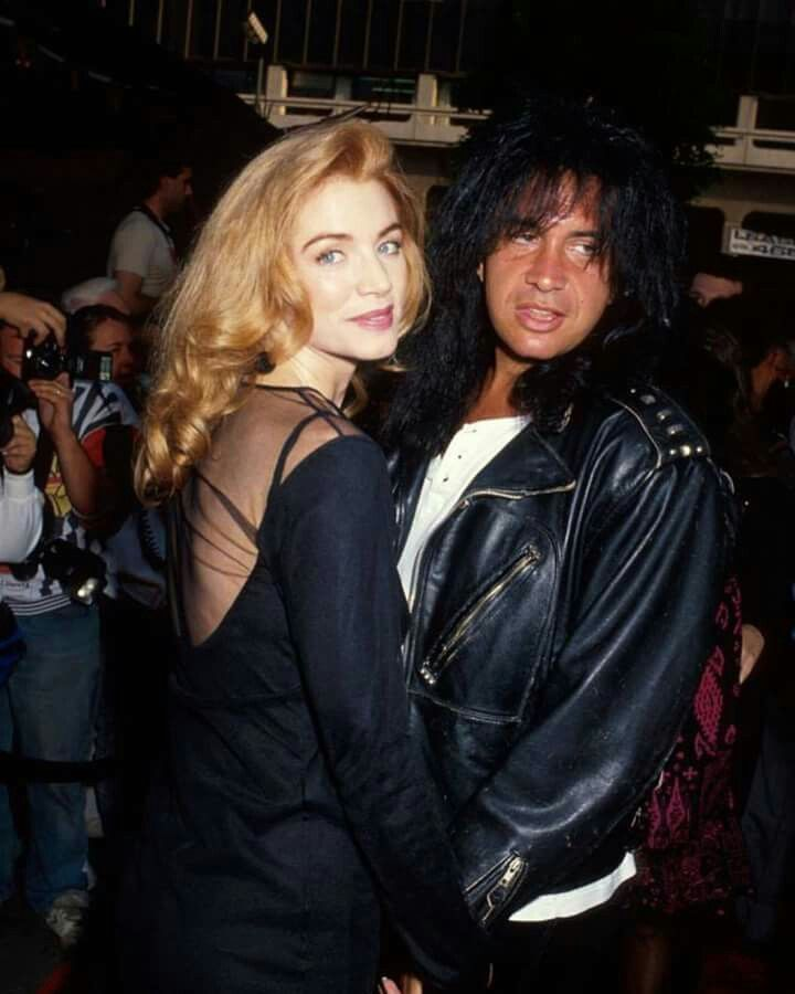 Kiss Without Their Makeup: Young Gene Simmons And Playboy Playmate Wife Sharron Tweed