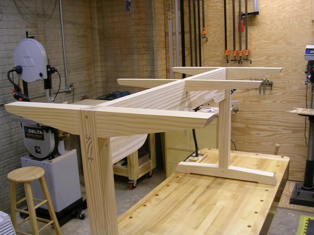 How To Build A Trestle Table Base Google Search Trestle Table Plans Woodworking Desk Plans Trestle Table