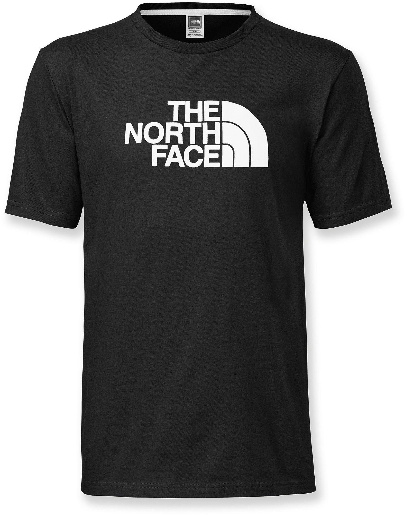 Black face app - The North Face Male Half Dome T Shirt Men S