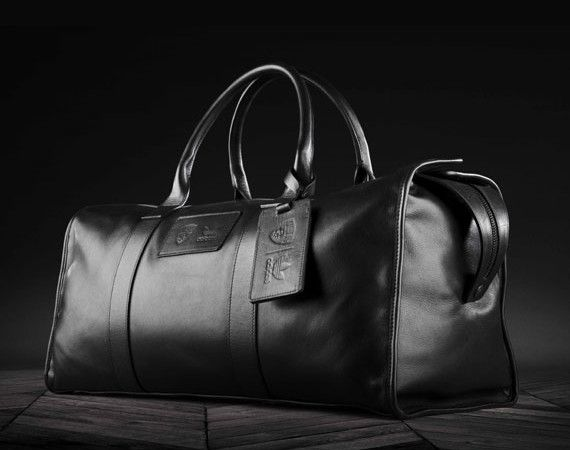 Brooklyn Nets x adidas Originals x Schott Leather Duffle