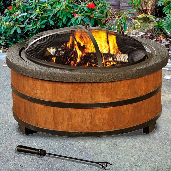 Look what I found on Wayfair! Wood burning fire pit