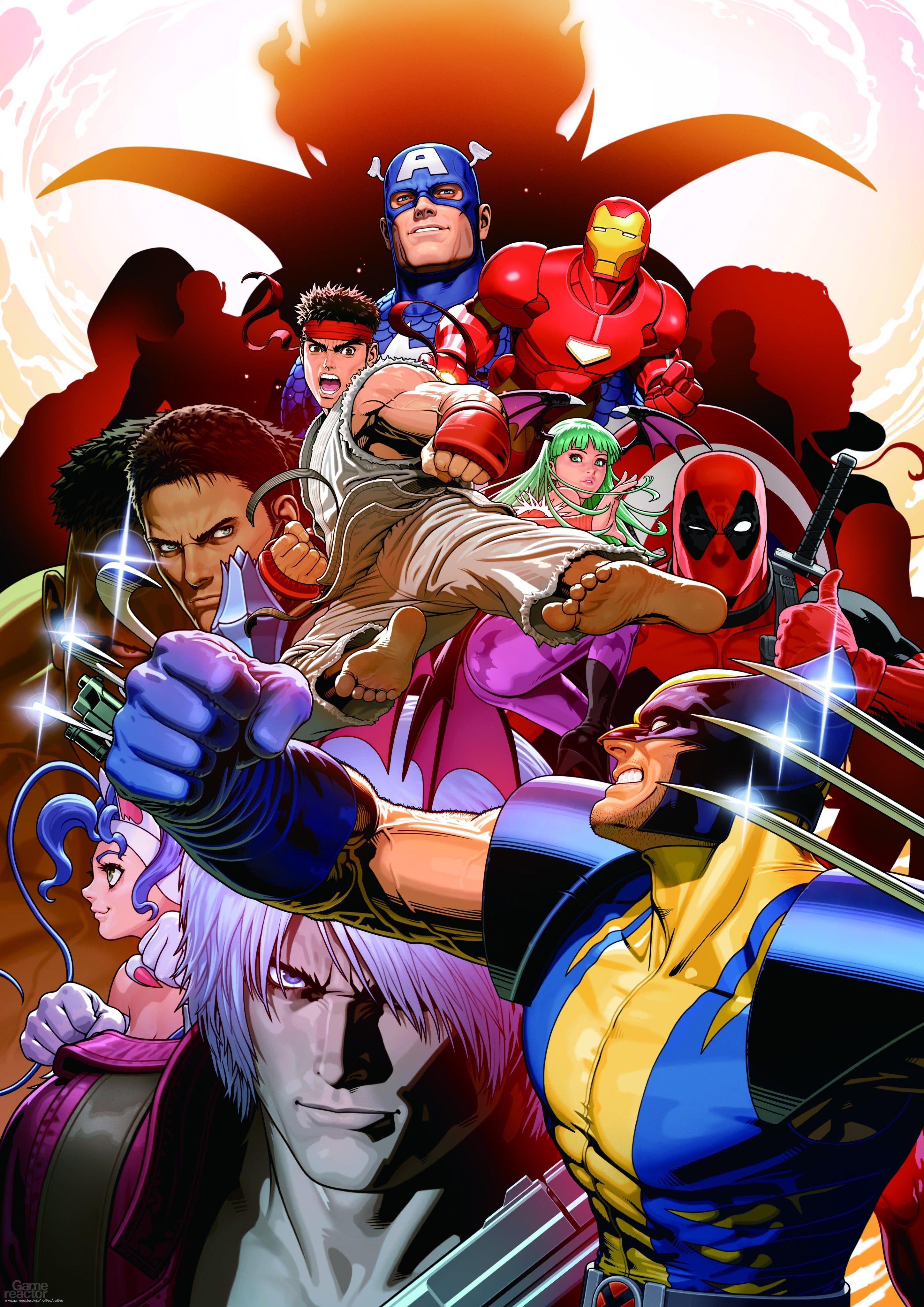Marvel Vs Capcom 3 Fate Of Two Worlds 1920x1080 For Desktop