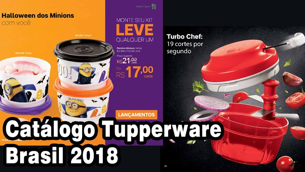 Novo Tupperware Catálogo Brasil 2018 Tupperware Brasil Youtube