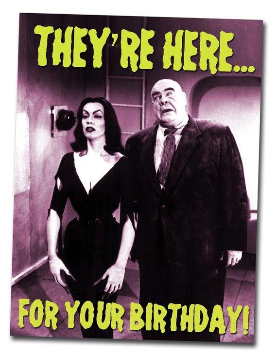 Verjaardagskaart b filmposter van alternatehistories op Etsy – Alternative Birthday Greetings