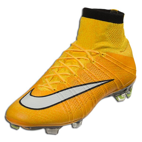 Nike Mercurial Superfly FG - Laser Orange/White/Black/Volt Firm Ground  Soccer. Football ShoesSoccer ...