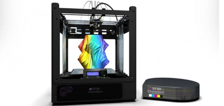 Something3D's 'Full Color' ST3D Chameleon 3D Printer Is On Its Way - http://3dprint.com/42740/something3d-full-color-fff-printer-is-on-the-way/…