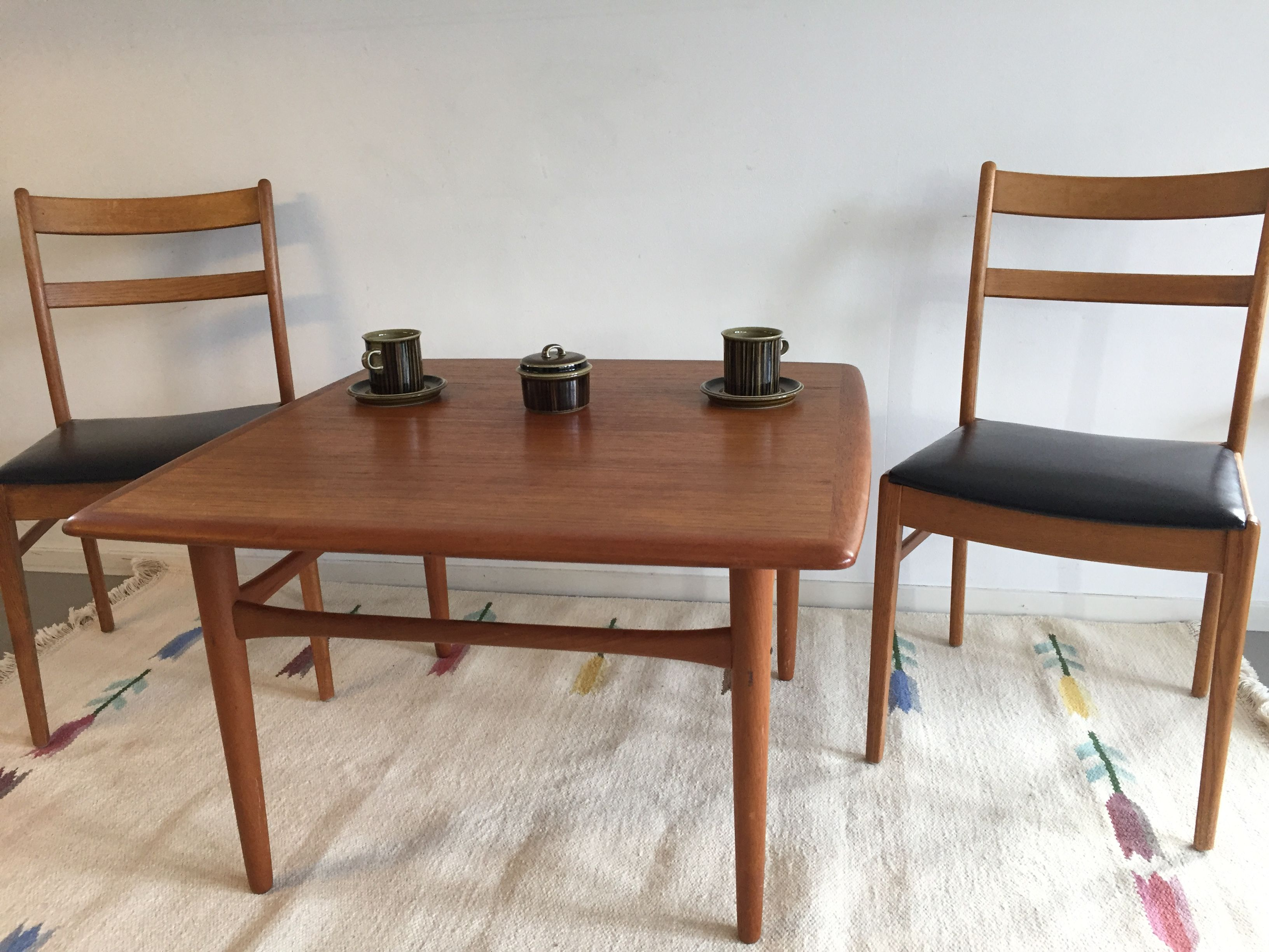 Salontafel Scandinavisch Design : Scandinavisch design teak salontafel midcentury furniture