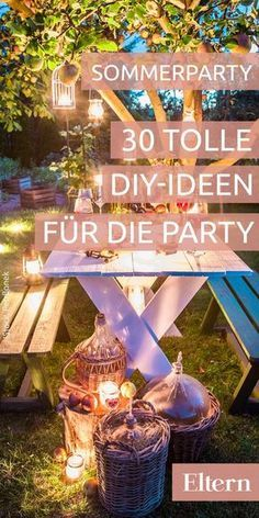 30 kunterbunte ideen f r eine fr hliche sommerparty hochzeit pinterest party gartenparty. Black Bedroom Furniture Sets. Home Design Ideas
