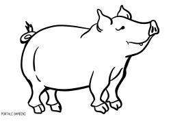 Disegni Di Maiali E Maialini Da Stampare E Colorare Portale Bambini Pigs Coloring Coloringpages Colorinspir Disegni Pagine Da Colorare Di Natale Maialini