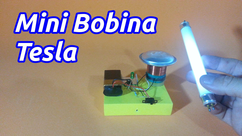 Circuito Bobina De Tesla : Mini bobina tesla electronic circuits
