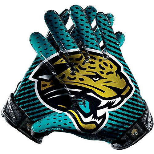 Hot Style Cheap Nike Jacksonville Jaguars Vapor Jet 2.0 Men Gloves Best For Promotion Gift. http://www.ywlaf.com