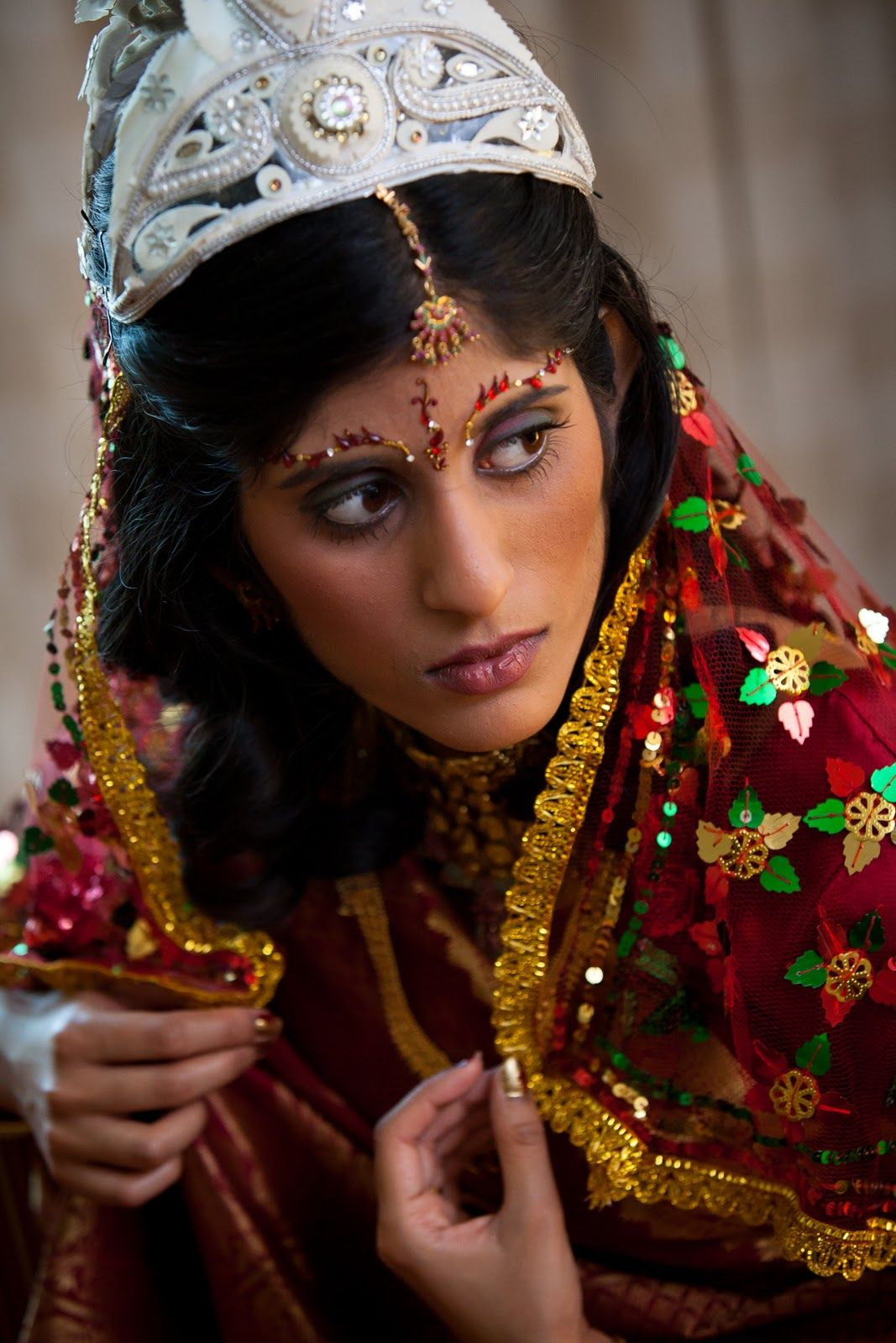 trio makeup and hair design (from indian wedding vendor