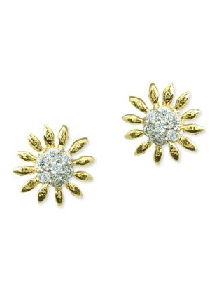 white brass earring - Online Shopping for Earrings