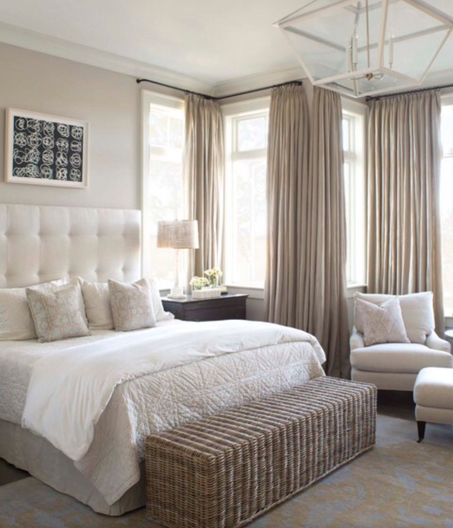 Pin On Master Bedroom Ideas: Cozy Master Bedroom, Master
