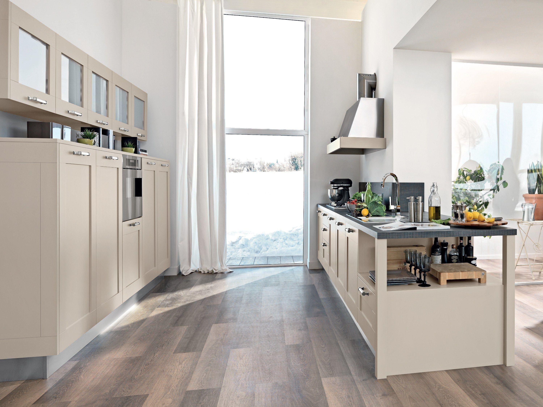 Cucina laccata in legno Collezione Gallery by Cucine Lube | Living ...