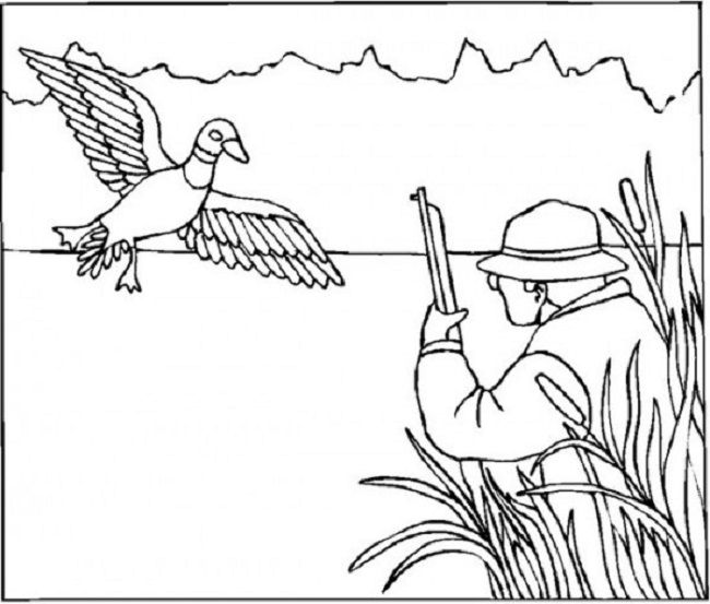 Hunting Coloring Pages Coloring Pages Free Coloring Pages Free Coloring