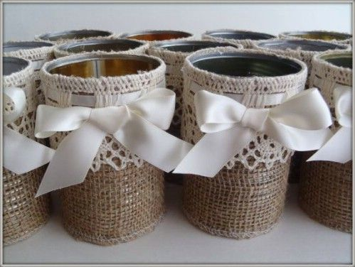 100 gorgeous burlap projects that will beautify your life for Burlap ribbon craft ideas