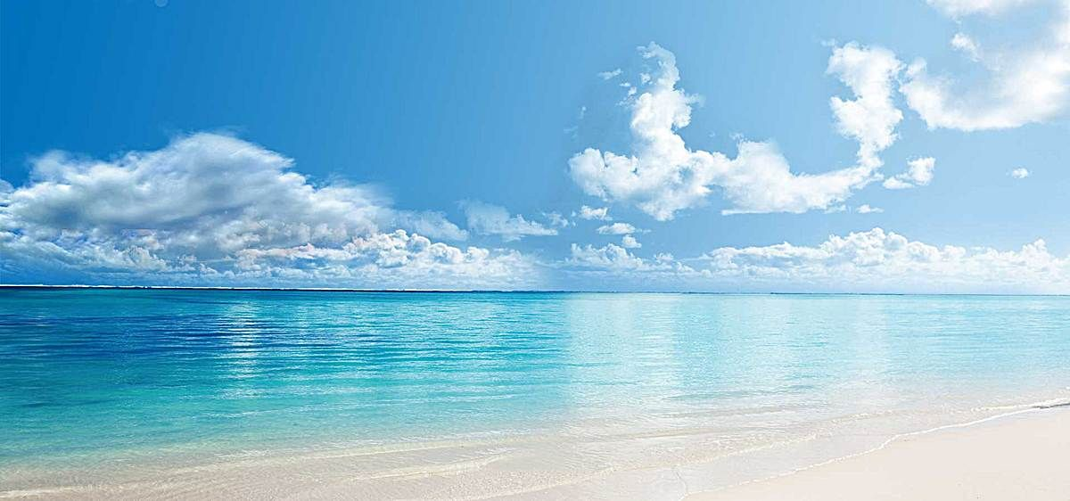 Oceano Corpo De Agua Praia Mar Background Em 2020 Cenarios De