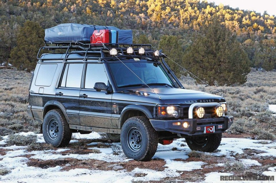 2004 Land Rover Discovery Series Ii Arb Sahara Bar Front