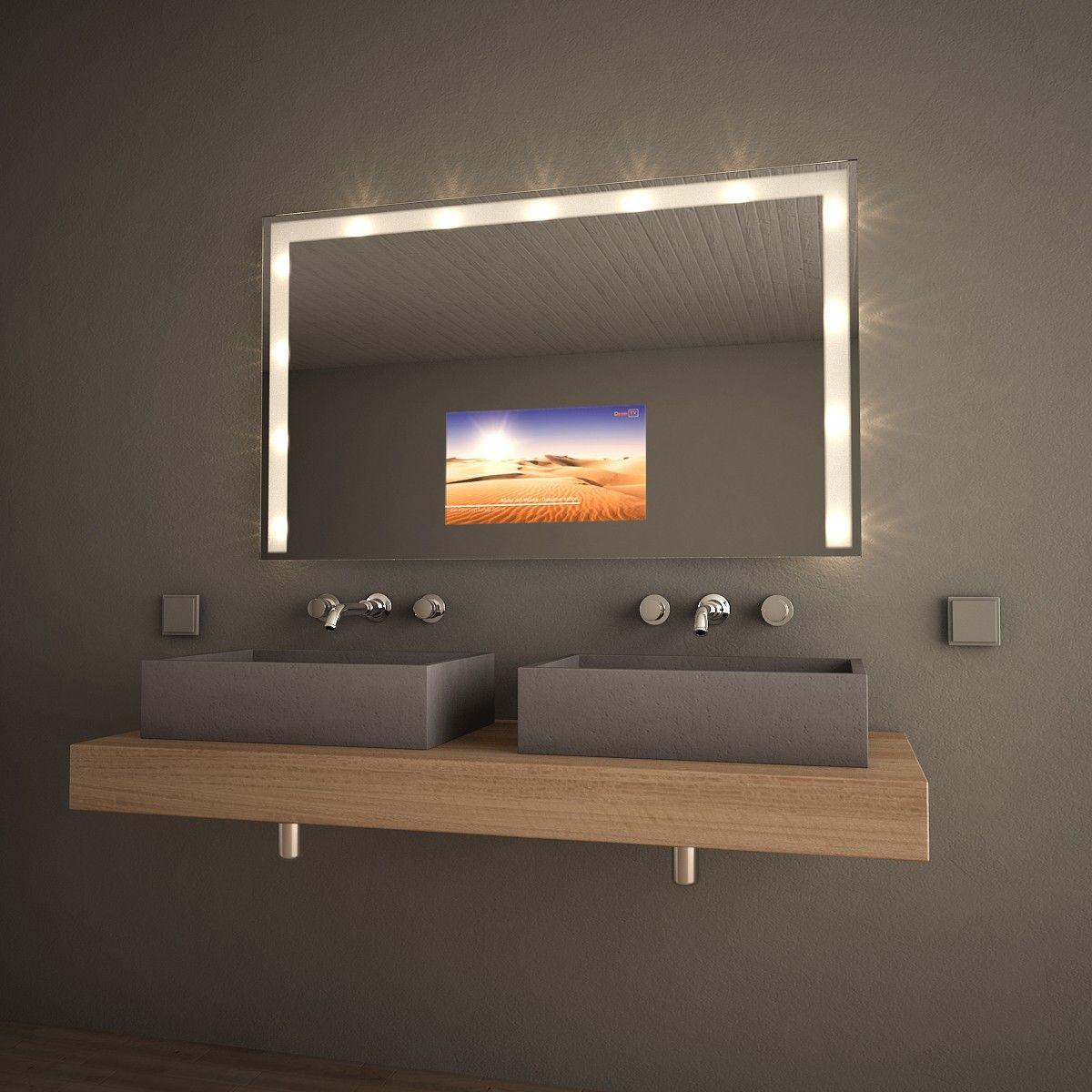 spiegel mit fernseher tv spiegel lilamoon hervorragende ...