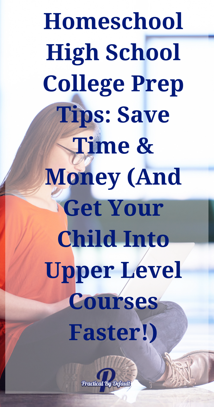 Homeschool High School College Prep Tips Save Time & Money (And Get Your Child Into Upper Level Courses Faster!) is part of High school college prep, Homeschool high school, Online education, School college, Education college, College prep - If your child is considering College education you need to check out Study com  The CLEP Prep is a great way to help your child earn the most credit quickly