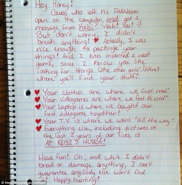 is this the best breakup letter ever? woman dumps boyfriend with