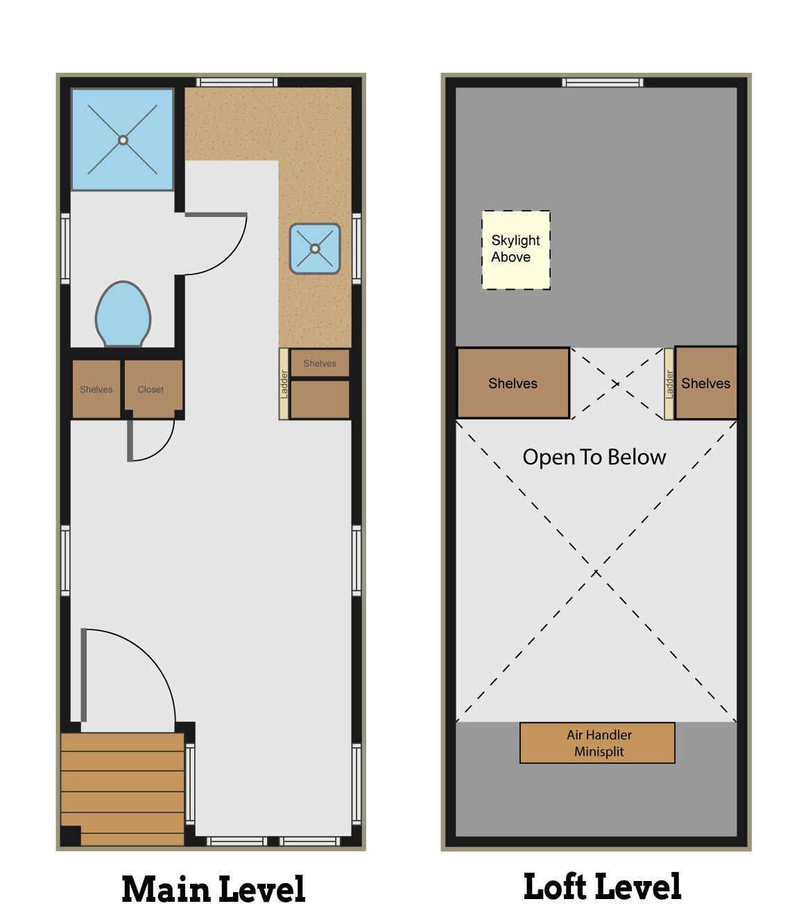 Tiny House Floor Plan Tiny House Floor Plans House Floor Plans Cabin Floor Plans