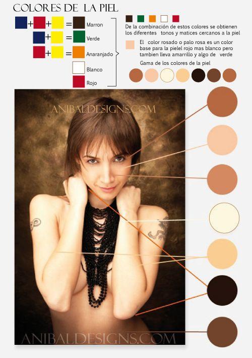 Color piel