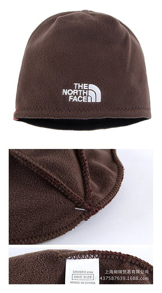 70808ed51aa8f  19.99 - The North Face Winter Thicken Polar Fleece Thermal Beanie Hat  Coffee  thenorthface