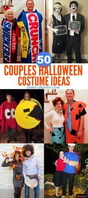 50 Couples Halloween Costume Ideas Couple halloween, Halloween - funny couple halloween costumes ideas