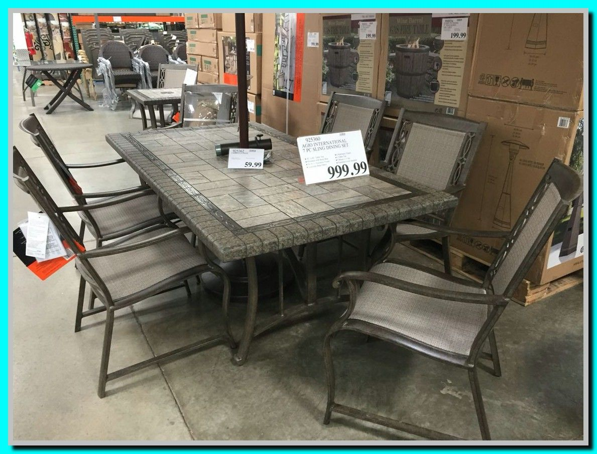 41 Reference Of Patio Chairs Costco Ca In 2020 Patio Table Set Costco Patio Furniture Patio Dining Furniture
