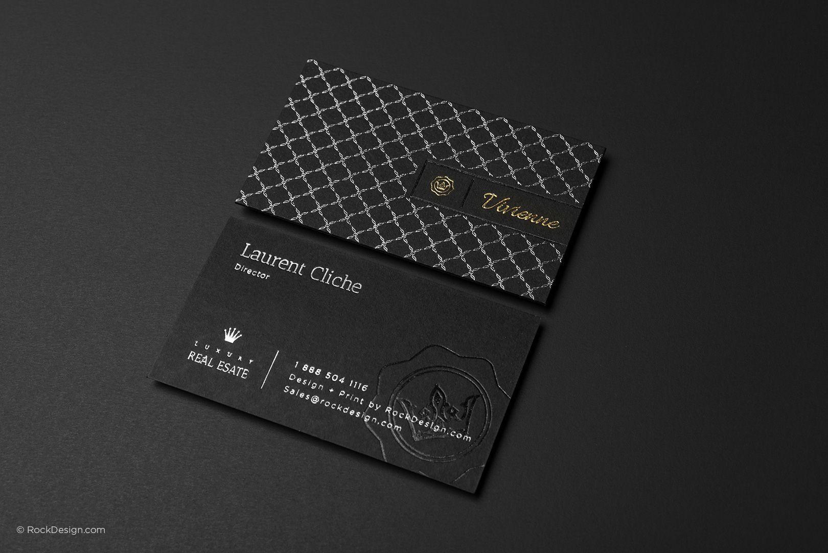 black business cards office stationary pinterest black