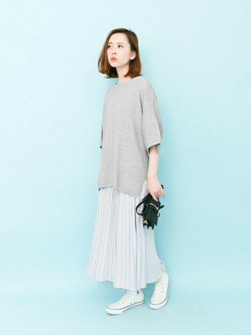はれこ Web事業部 Kbfのニット セーターを使ったコーディネート Wear 服 レディース ファッション ファッションアイデア