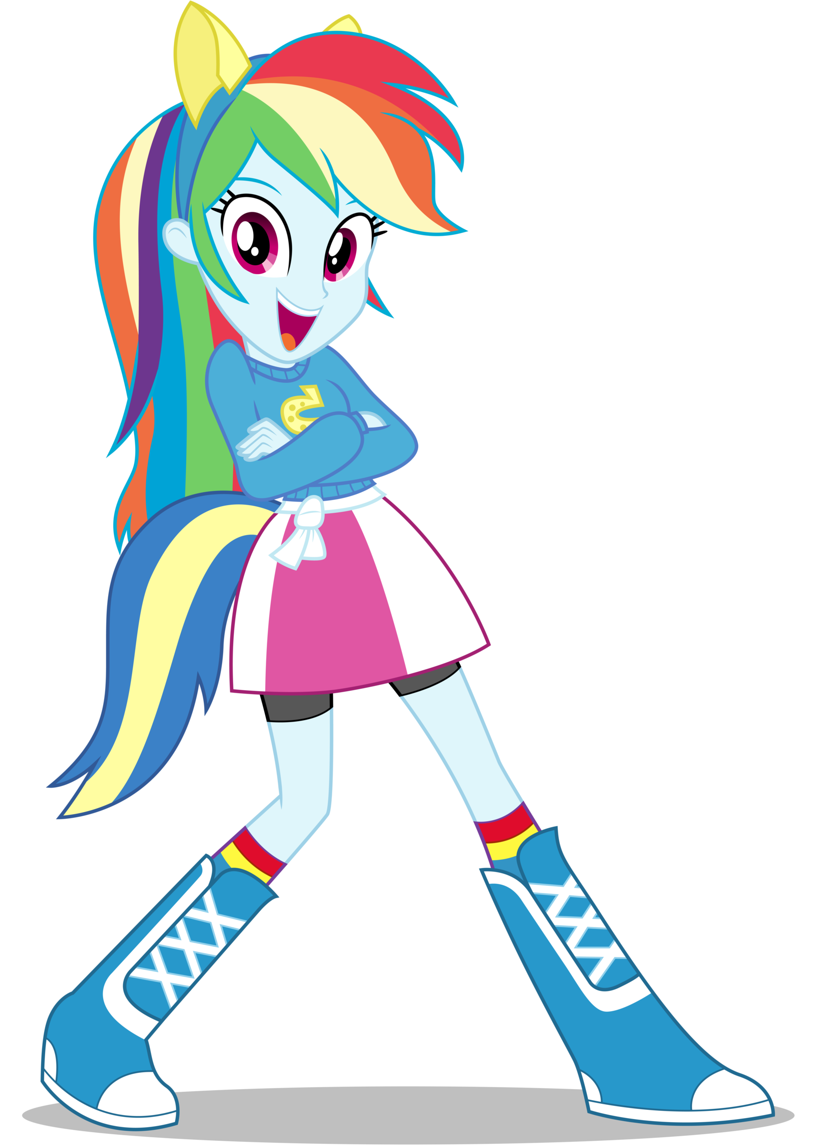 Rainbow+Dash+EqG:+Wondercolts+Pose+by+CaliAzian.deviantart ...