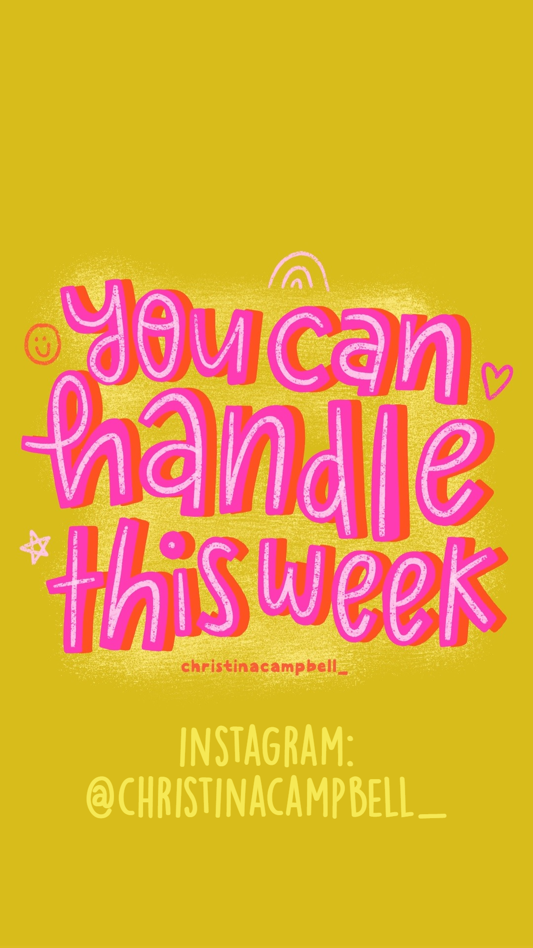 You can handle this week   monday motivation