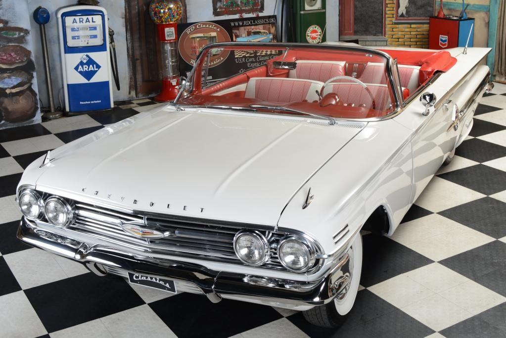 1960 Chevrolet Impala Cabrio / Top Restauration!!! Classic car for ...