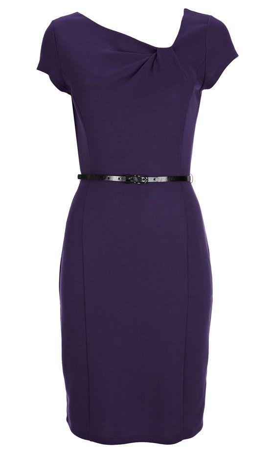 50 Best Party Dresses The Look Edit Wallis Purple Pencil Dress 35 Best Party Dresses Dresses Party Dress