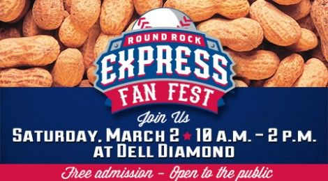 'Round the Rock: Round Rock Express Fan Fest ~ March 2, 2013