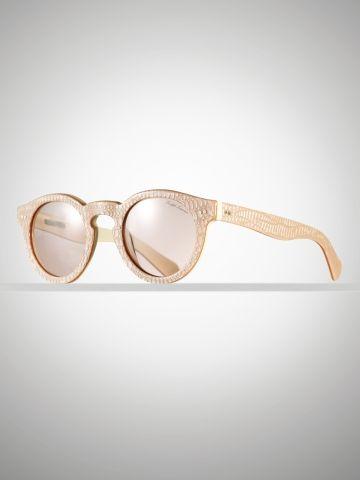Pink Python Sunglasses - Ralph Lauren Sunglasses