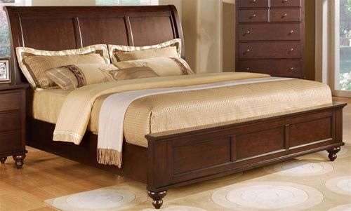 Portsmouth Panel Bed Frame King or Queen Size Huntington