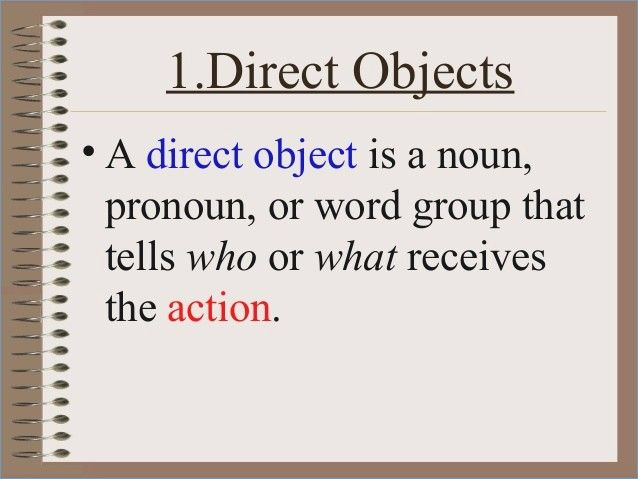 Direct Object, Indirect Object, Reflexive, Y, EN French ...  Direct And Indirect Object Chart