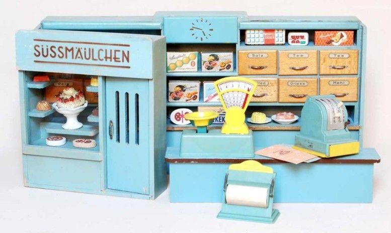kaufl den nach 1945 dollhouses pinterest. Black Bedroom Furniture Sets. Home Design Ideas