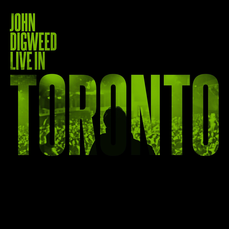 John Digweed Live in Toronto 3xCD Ltd Signed Slipcase