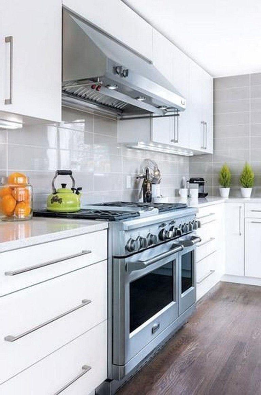 36 Magnificence White Kitchen Cabinets Ideas Cocinas Pequenas