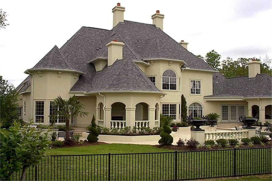 Luxury House Plan European Home Plan 134 1326 Luxury House Plans House Blueprints House Styles