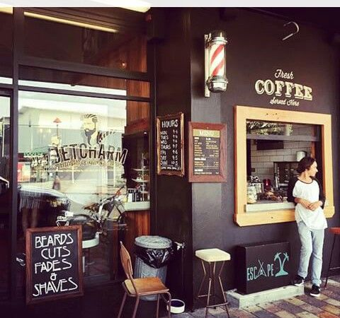 Barbershop coffee barber shop ideas and styles by for Arredamento barber shop