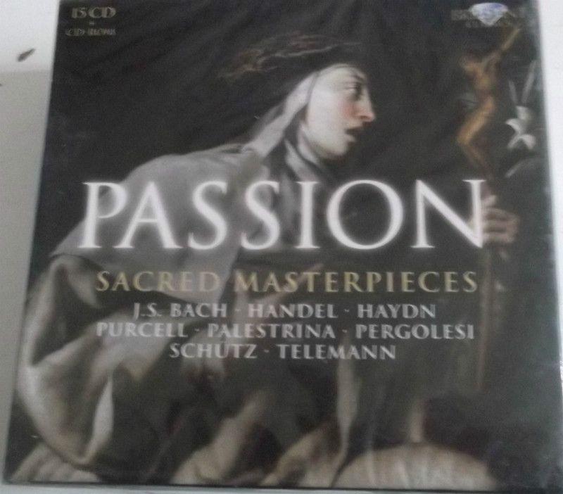 Passion: Sacred Masterpieces Box set of 15 CD 5028421940328 on eBid United Kingdom